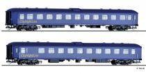 Tillig 1758 Személykocsi-pár, négytengelyes Bpm 875, CityNightLine, DB AG (E5)