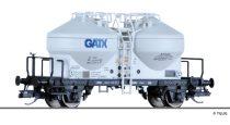 Tillig 17705 Poranyagszállító silókocsi, GATX Rail Germany GmbH (E6) (TT)