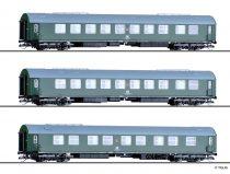 Tillig 1778 Személykocsi-készlet, 3-részes Salonwagenzug 2, DR (E4)