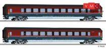 Tillig 1781 Személykocsi-pár, négytengelyes Railjet, ÖBB (E6)