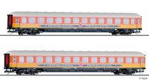 Tillig 1783 Személykocsi-pár, négytengelyes m-sorozatú 2. osztály, Apfelpfeil, DB (E4)