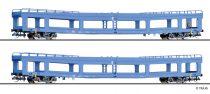 Tillig 1788 Autószállító négytengelyes teherkocsi-pár, DDm 916, DB-AG (E5)