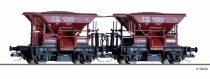 Tillig 1800 Kőszállító önürítős teherkocsi-pár, TALBOT, DRG (TT) (E2)