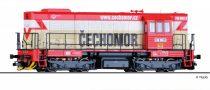 "Tillig 2758 Dízelmozdony serie 740 ""CECHOMOR"", KDS s.r.o. Kladno (E6)"