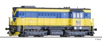 Tillig 2764 Dízelmozdony Reihe 740, OKD Doprava a.s. (CZ) (E5) (TT)