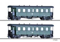 Tillig 3994 Személykocsi-pár, négytengelyes KBD4i, H0e, DR (E3)