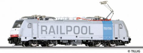 Tillig 4903 Villanymozdony BR 186, D-Railpool (TT)