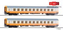 Tillig 501287 Személykocsi-pár, négytengelyes Y sorozat 2. osztály, Städte.Express, DR (E4
