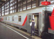 Tillig 58028 Hálókocsi készlet, 3-részes, RZD, Nizza-Moszkva (TT)