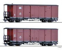 Tillig 5940 Fedett négytengelyes teherkocsi, Gml, NWE (Nordhausen-Wernigeroder Eisenbahn-Gesel