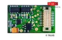 Tillig 66036 Mozdonydekóder Next18, NEM 662