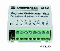 Tillig 66835 Kiegészítő (mágneses alkatrészek) dekóder vezérlőmodul (Uhlenbrock)