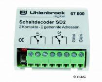 Tillig 66836 Kapcsolódekóder SD 2 - digitális 2 cím (Uhlenbrock)