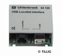 Tillig 66844 USB-LocoNet Interface szoftverrel (Uhlenbrock)