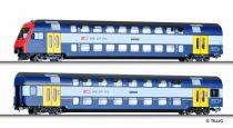 Tillig 70005 Emeletes személykocsi-pár vezérlőkocsival, SBB (E5), S-Bahn Zürich