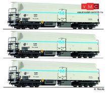 Tillig 70013 Hűtőkocsi-készlet (3-részes), négytengelyes MK-4, BDZ (E3) (H0)