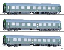 Tillig 70033 Személykocsi-készlet, 3-részes Salonwagenzug der DDR-Regierung I., DR (E4)