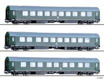 Tillig 70039 Személykocsi-készlet, 3-részes négytengelyes Salonwagenzug 2, DR (E4)