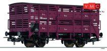Tillig 76621 Élőállatszállító fedett teherkocsi Vh 14, DB (E3) (H0)