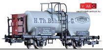 """Tillig 76680 Tartálykocsi fékházzal, """"H. Th. Böhme AG"""", DRG (E2)"""