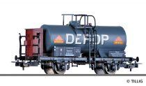 Tillig 76736 Tartálykocsi fékházzal, DEROP Deutsche Vertriebsgesellschaft für Russische Öl