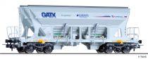 Tillig 77003 Önürítős négytengelyes teherkocsi, Faccns, GATX / Freightliner / EUROVIA (E6)