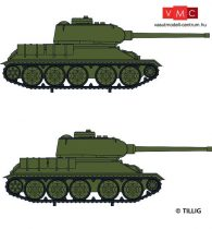 Tillig 7750 T-34/85 harckocsi (2 db) (TT)