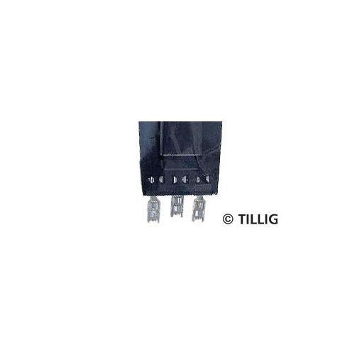 Tillig 7941 Lapos csatlakozó a Tillig 08330 váltóállítóműhöz, 15 db (TT)