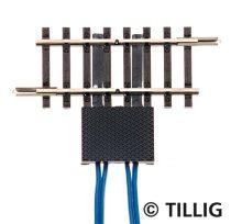 Tillig 83151 Megszakítósín, 41,5 mm 2x2 csatlakozóval (TT)