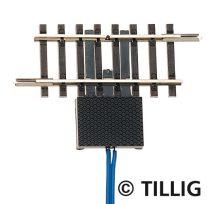 Tillig 83156 Szakaszolósín, 41,5 mm, 2 csatlakozóval (TT)