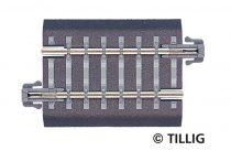 Tillig 83703 Ágyazatos egyenes sín, BG4, 41,5 mm (TT)