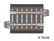 Tillig 83704 Ágyazatos egyenes sín, BG5, 36,5 mm (TT)