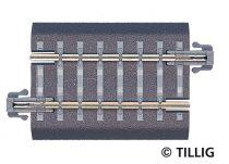 Tillig 83705 Ágyazatos egyenes sín, BG3, 43 mm (TT)