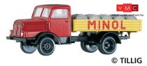 Tillig 8662 IFA H3A platós teherautó, MINOL (TT)