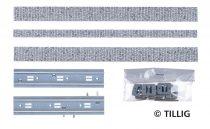 Tillig 87006 LUNA villamosvágány: Egyvágányos villamospálya kockakő útburkolattal, 211,2
