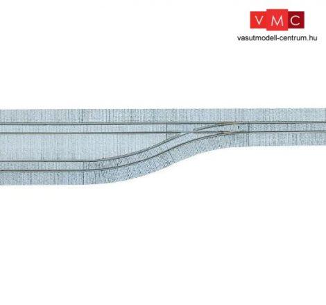 Tillig 87611 LUNA villamosvágány: Kitérővágány balos váltóval 4x105,7mm, kockakő útbu