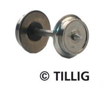 Tillig 8818 Fémkerék 7,5 mm, szigetelt (8 db) (TT)