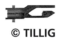 Tillig 8828 Kapcsolható merevkuplung KK, (20 db) (TT)