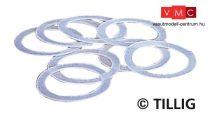Tillig 8881 Tapadógyűrű 10, 5 mm-es kerékhez (8 db), 227440 (TT)