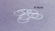 Tillig 8883 Tapadógyűrű 14 mm-es kerékhez (8db) (TT)