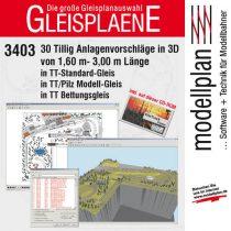 Tillig 9548 CD-ROM: 30 db TT pályaterv (1, 6÷3 m) + WinTrack Viewer program (TT)