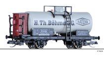 Tillig 95860 Tartálykocsi fékházzal, H. Th. Böhme AG, DRG (E2) (TT)