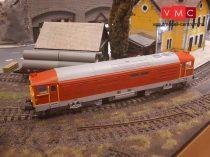 Tomaszmodell 63007 Dízelmozdony M63 007, Gyík, MÁV (E4) - Szürke tetővel