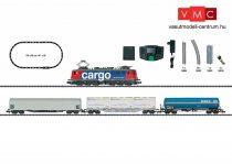 Trix 11141 Digitális kezdőkészlet: Tehervonat Ae 610 villanymozdonnyal, ovál pályával, SBB (E6) (N)