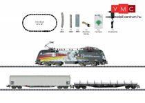 Trix 11154 Analóg kezdőkészlet: Tehervonat Taurus villanymozdonnyal, ovál pályával, MRCE / TX Logistik (E6) (N)