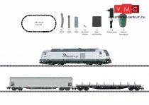 Trix 11155 Digitális kezdőkészlet: Tehervonat BR 285 dízelmozdonnyal, ovál pályával, Rhein Cargo GmbH & Co. KG (E6) (N)