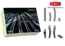 Trix 14301 Minitrix ágyazatos sínrendszer - kiegészítő nagy sínkészlet (N)