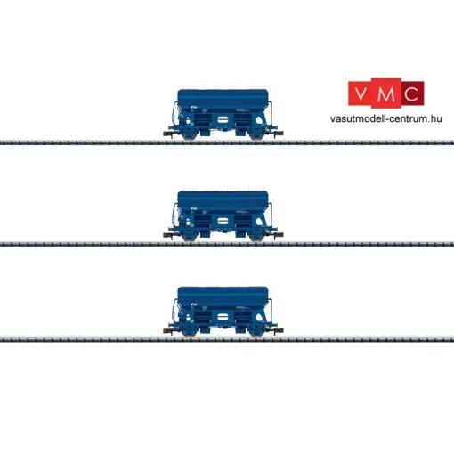 Trix 15089 Önürítős billenőtetős teherkocsi-készlet, 3-részes Tds, NS (E5)