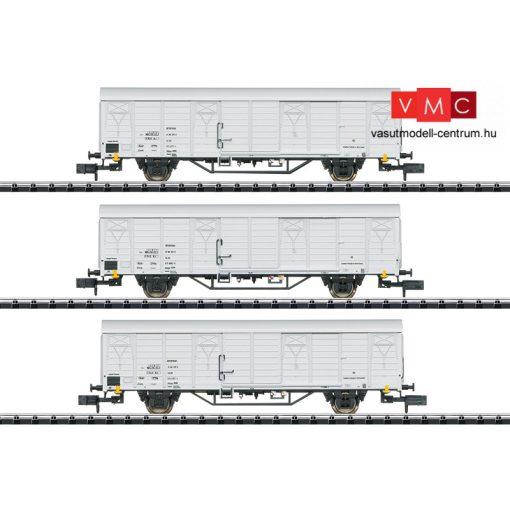 Trix 15316 Hűtőkocsi-készlet, 3-részes Ibblps, DR (E4) (N)