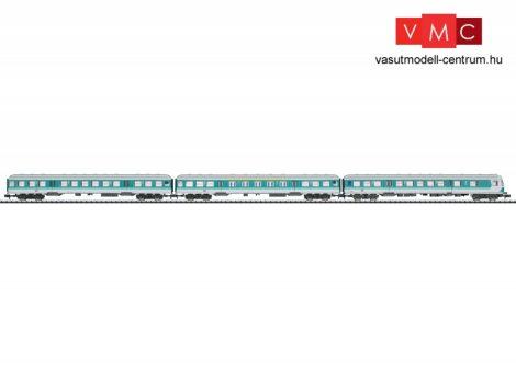 Trix 15392 Személykocsi-készlet vezérlőkocsival, 3-részes négytengelyes Regionalexpress, DB-AG (E5) (N) - DCC/SX dekóderrel